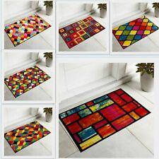 Soft Luxury Indoor Outdoor 60 x 110 cm Large Door Mat Colourful Floor Rug