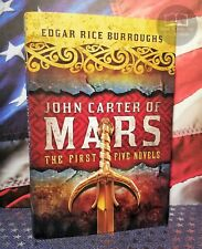 NEW John Carter of Mars: The First Five Novels Hardcover Egar Rice Burroughs