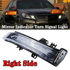 1X Right Side Mirror Indicator Turn Signal Light For Mercedes Benz W204 W164