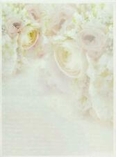 Printed Translucent / Vellum Scrapbook  Paper A/4 Roses