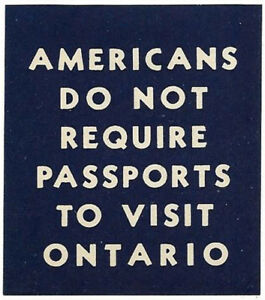 Probably 1940s  - Ontario promotional