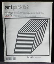 Art Press 195 Peter Phillips Hirschhorn Keita Foucault / Klossowski Sol LeWitt