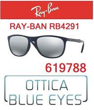 Occhiali da sole RAYBAN SUNGLASSES RB 4291 619788 Ray Ban Blue Silver Mirror