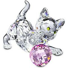 swarovski Standing Kitten New  Pink ball    631856