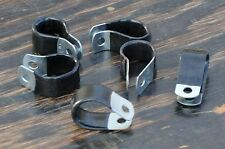 "5x NOS 5/8"" Loop CLAMPS Tour Road Bike Rack Vintage Bicycle Frame Carrier Basket"