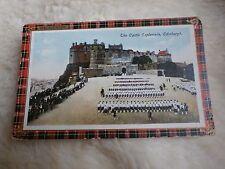 @ THE CASTLE ESPLANADE - EDINBURGH - SCOTLAND - 1917 (C)