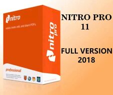 Nitro Pro 11 PDF Reader Creator Editor | Full version | Lifetime License