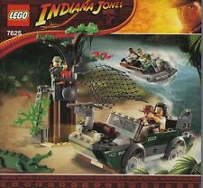 INSTRUCTIONS ONLY LEGO RIVER CHASE 7625 Indiana Jones from set