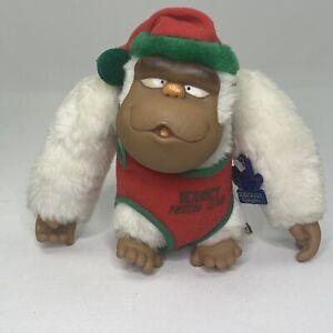 Vintage 1979 Applause Rodney Needs Love Gorilla Monkey Ape Christmas Plush
