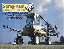 VTG 1970's SPRAY-RAM SPRAYRITE FARM SPRAYER 4 WHEEL DRIVE SALES DEALER BROCHURE
