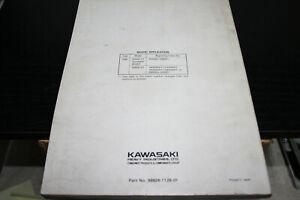 Kawasaki service manual for Ninja ZX-6 motorcycles.