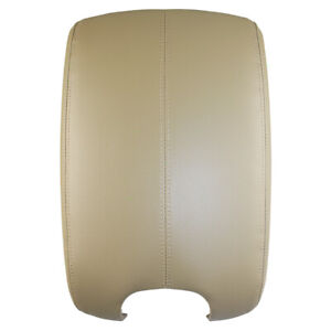 Fits Honda Accord 08-12 Beige Synthetic Leather Center Console Armrest Lid Cover