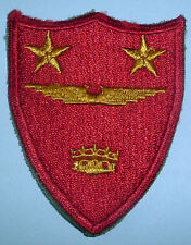 AMERICAN PATCHES-ORIGINAL 1st TYPE WW2 2nd MARINE AIR WING HEADQUARTERS CUT EDGE