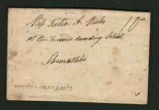 Westmoreland NY 1822 Straightline Cancel On Oneida County Stampless Cover