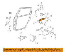 FORD OEM 00-07 Focus-Outside Exterior Door Handle YS4Z5422404AAA