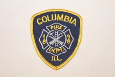 Fire Patch  Columbia Ill Fire Dept.
