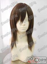 38cm medium long BROWN cosplay wig fashion lolita SALE FREE SHIPPING