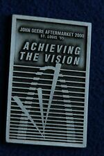 John deere aftermarketparts medallion acheiving the vision St Louis 1995