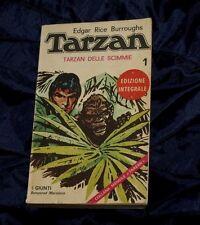 Edgar Rice BURROUGHS - Tarzan Delle Scimmie  Giunti n.1  Libro