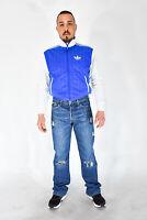 LEVIS 501 Jeans BLu In Cotone Stile Casual Taglia W 33 - L Uomo Man