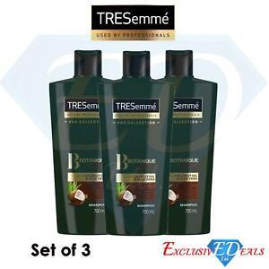 3 x Tresemmé Shampoo Nourish & Replenish 700ml Botanique Nourish & Replenish