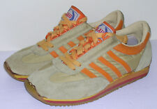 Aau-Usa Running Shoes Vtg 70s 1970s Suede Korea Rare 7.5 Joggers Tennis Trainers