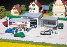 130296 Faller HO 1:87 Bausatz Tankstelle mit Waschhalle - Neu + OVP