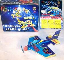 12 Stunt Gliders Fly Back W Sound Propeller glider toys play airplane new plane