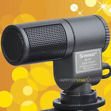Pro Condenser DV Stereo Audio Microphone for Canon 760D 750D 80D 700D 1300D 70D