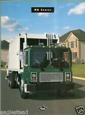 Truck Brochure - Mack - MR Series - Multiple Examples - 1998 (TB27)