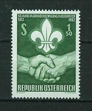 AUSTRIA 1962  MNH  SC.684 Austrians Boy Scouts