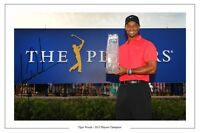 TIGER WOODS PLAYERS CHAMPION 2013 GOLF AUTOGRAPH SIGNED PHOTO PRINT POSTER