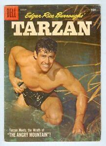 Tarzan #95 August 1957 VG- Photo cover