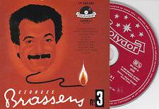 CD CARTONNE CARDSLEEVE 10T GEORGES BRASSENS SA GUITARE ET LES RYTHMES 2010