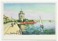 WK2 Künstlerkarte Vollbehr Saloniki Griechenland Weisser Turm Tarnbemalung 3501