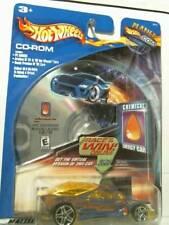 2002 Hot Wheels CD-Rom Chemical Engery Car 2/6 - Blue