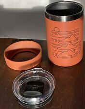 Hydro Flask Hawaii 12 oz Cooler Cup Limited Edition Red Dirt Yeti Mag Lid