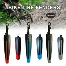 Mountain Bike Bicycle MTB Cycling Tire Front Rear Mudguards Mud Guard Fender V3