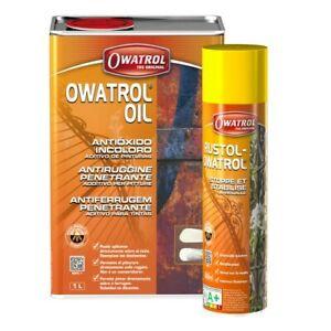 OWATROL OIL ANTIRUGGINE PENETRANTE ADDITIVO PER PITTURE DA 1LT PROFESSIONALE