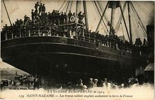 CPA  La Guerre Européenne de 1914 - Saint-Nazaire -Les braves soldats...(222161)