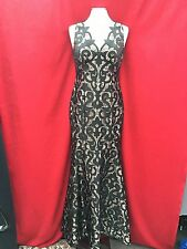 ADRIANNA PAPELL DRESS /NEW WITH TAG/SIZE 12/RETAIL$399/ LONG GOWN/