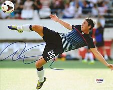 Abby Wambach Gold Medal Olympics WORLD CUP Signed Auto 8x10 PSA/DNA COA
