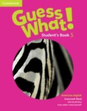 Guess What! American English Level 5 Student's Book (Paperback or Softback)