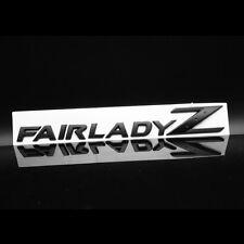 3D FAIRLADY Z Car Body Alloy Emblem Stickers for NISSAN 350Z 370Z Z33 Z34 BLACK