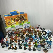 Skylanders Giant of 80 Pieces 3 Xbox Games Special Case Swap Force Spyro Collect