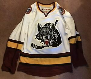 Chicago Wolves Hockey Jersey CCM Adult S