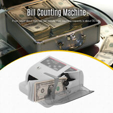 Money Counter Currency Cash Bill Counting Machine Detector UV/MG/WM T2D6