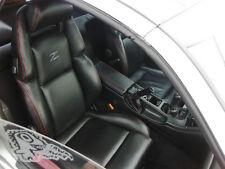 Custom made 1990-1999 300ZX Synthetic Leather Seat Covers Black With Grey Logo