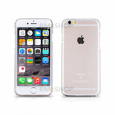 Ultra Thin Crystal Hard Clear Transparent Case Cover Protector iPhone 6S 6 4.7 H