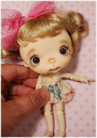 Baby Lala ,Blythe sister,ob11cm body,mini doll,Holala friend,Ppinkydolls